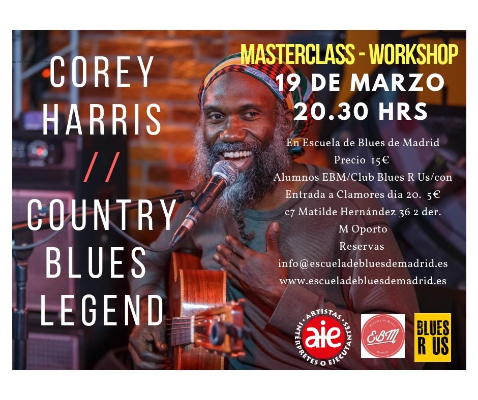 Corey Harris en Madrid (1)