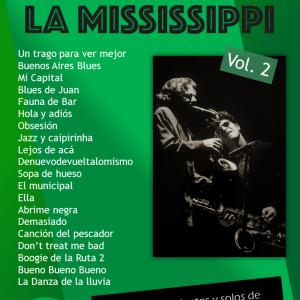 Tapa Los Saxos de La Mississippi 2